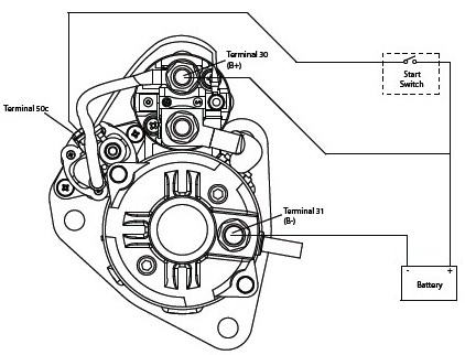 Wiring Diagram For Gear Reduction Starter