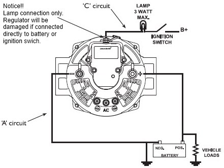 Index on alternator wiring diagrams